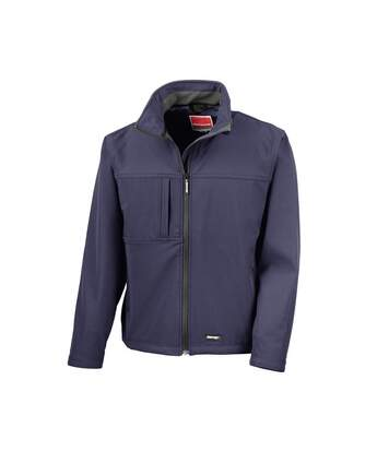 Result Mens Classic Softshell Breathable Jacket (Navy Blue) - UTBC857