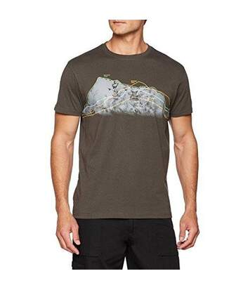 Trespass Mens Cashing Short Sleeve T-Shirt (Khaki) - UTTP4122