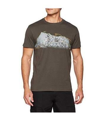 Trespass - T-Shirt À Manches Courtes Cashing - Homme (Kaki) - UTTP4122