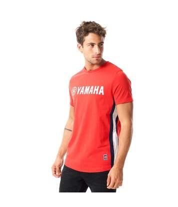 T shirt homme Racing comptatible Collection Textile Yamaha Outsiders- Assortiment modèles photos selon arrivages- T Shirt MC Side C