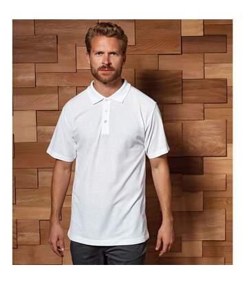 Premier - Polo épais à manches courtes - Homme (Blanc) - UTRW1109
