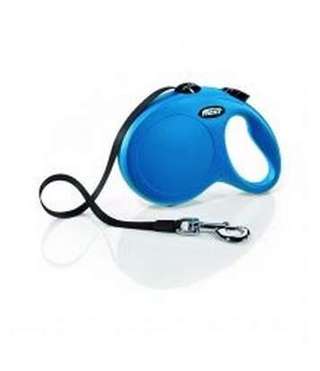 Laisse Flexi Pour Chien (5M) (Bleu) (L) - UTBT563