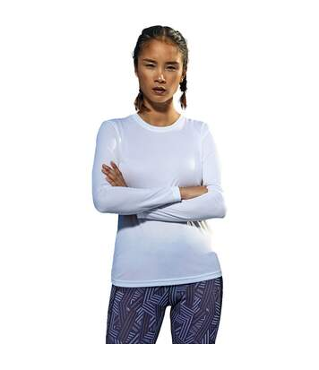 Outdoor Look T-Shirt Femme à Manches Longues en Tissu Mèche