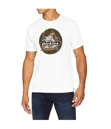 Tee-shirt Blanc Homme Dickies