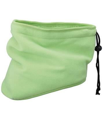 Tour de cou écharpe cache-nez polaire - MB7930 - vert citron