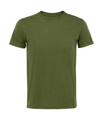 SOLS - T-shirt manches courtes MARTIN - Homme (Vert kaki) - UTPC4084