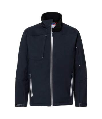 Russell Mens Bionic Softshell Jacket (French Navy) - UTRW6161