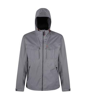 Regatta Great Outdoors Mens Bardolf Stretch Waterproof Jacket (Rock Grey) - UTRG3229