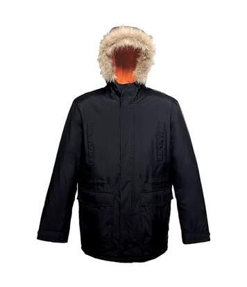 Parka classique à capuche - homme - TRA300 - noir