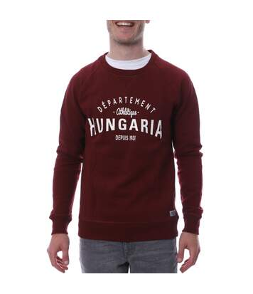 Sweat bordeaux homme Hungaria Legend