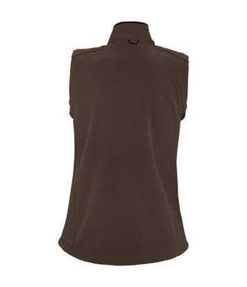 SOLS Womens/Ladies Rallye Soft Shell Bodywarmer Jacket (Black) - UTPC350