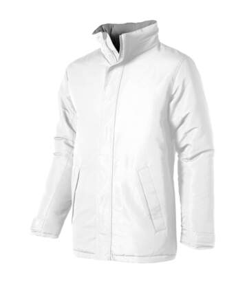 Slazenger Mens Under Spin Insulated Jacket (White) - UTPF1783
