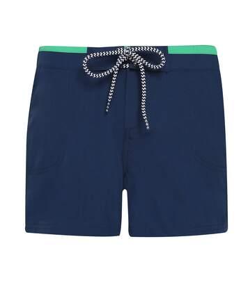 Asquith & Fox - Short De Bain - Femme (Bleu marine / rouge) - UTRW6243