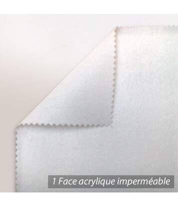 Protège matelas imperméable Antony blanc 200x210 Grand Bonnet 40cm