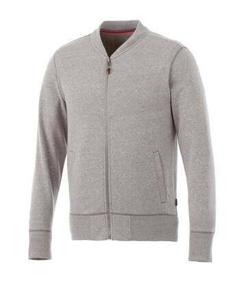 Slazenger Mens Stony Track Jacket (Grey Melange) - UTPF1770