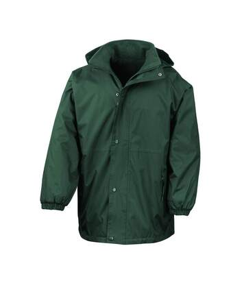 Result Mens Reversible StormDri 4,000 Waterproof Windproof Anti Pilling Fleece Jacket (Bottle Green/Bottle Green) - UTBC884