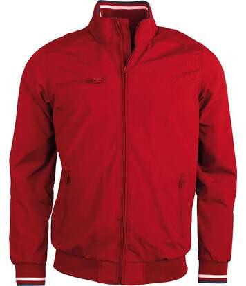 Blouson ville homme - K609 - rouge