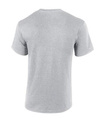 Gildan Mens Ultra Cotton Short Sleeve T-Shirt (Safety Pink) - UTBC475