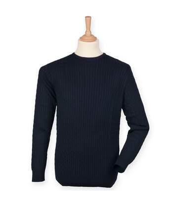 Front Row - Pull En Coton - Homme (Bleu marine) - UTRW4702