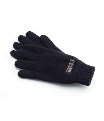 Yoko Unisex 3M Thinsulte Full Finger Thermal Winter/Ski Gloves (Black) - UTBC1273