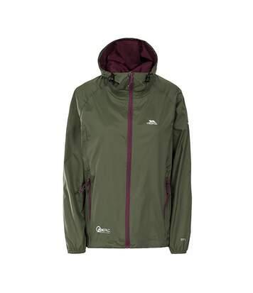 Trespass Womens/Ladies Qikpac Waterproof Packaway Shell Jacket (Black) - UTTP3379