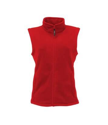 Regatta - Veste Polaire Sans Manches - Femme (Rouge) - UTRG1595