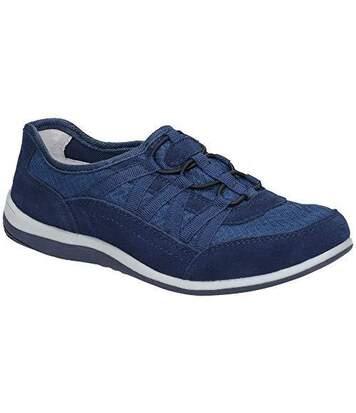 Fleet & Foster - Baskets Dahlia - Femme (Bleu marine) - UTFS6060