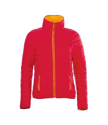 SOLS Womens/Ladies Ride Padded Water Repellent Jacket (Red) - UTPC2155
