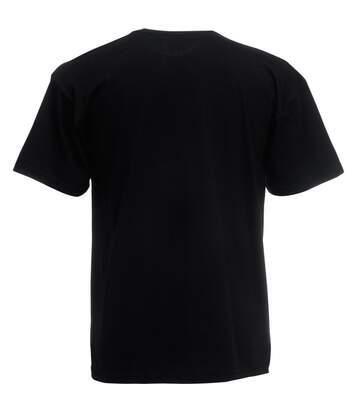 Fruit Of The Loom -T-Shirt À Manches Courtes - Homme (Noir) - UTBC338