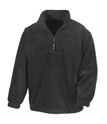 Result Unlined Active 1/4 Zip Anti-Pilling Fleece Top (Navy Blue) - UTBC920