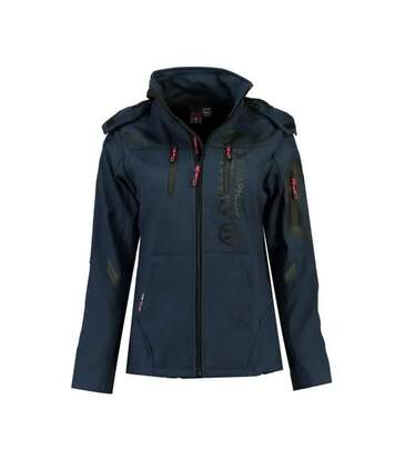 Veste Softshell Marine Femme Geographical Norway Truffe