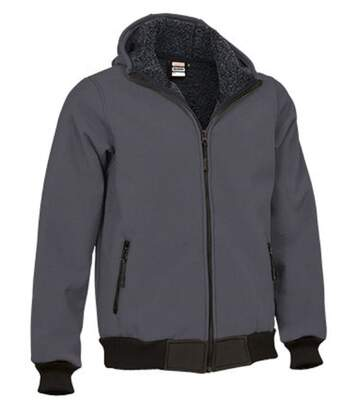 Blouson softshell - Homme - REF BLUMMER - gris