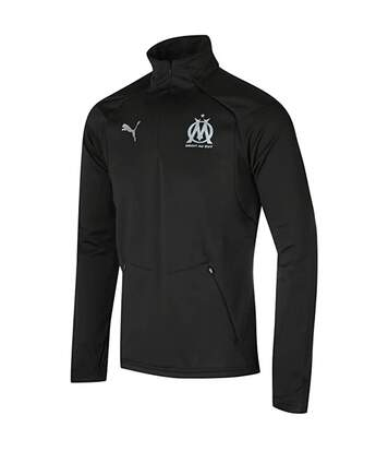 OM Sweat training Noir Homme PUMA TRAINING FLEECE