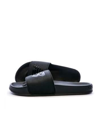 Claquettes noire homme New Balance SMF200 D