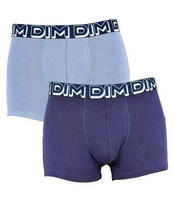 Boxer DIM Homme en coton stretch ultra Confort -Assortiment modèles photos selon arrivages- Pack de 2 Boxers Powerfull