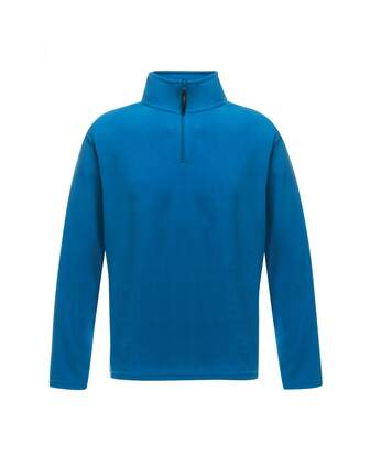 Regatta Mens Micro Zip Neck Fleece Top (Oxford Blue) - UTRG1580