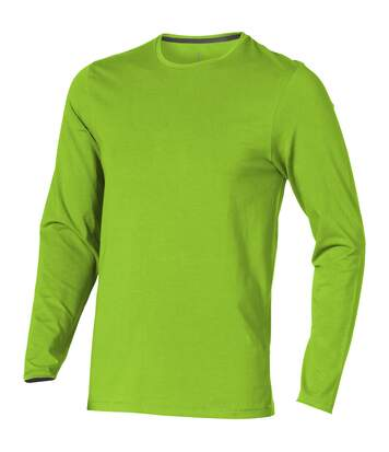 Elevate Mens Ponoka Long Sleeve T-Shirt (Apple Green) - UTPF1811