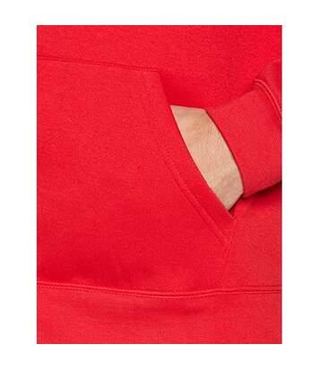Fruit Of The Loom Mens Premium 70/30 Hooded Zip-Up Sweatshirt / Hoodie (Red) - UTRW3161