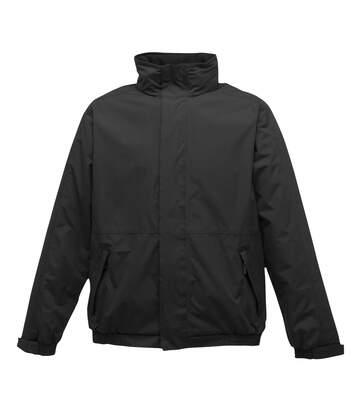 Regatta Dover Waterproof Windproof Jacket (Thermo-Guard Insulation) (Black/Ash) - UTBC839
