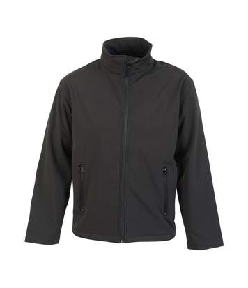 Absolute Apparel Mens Classic Softshell (Black) - UTAB132