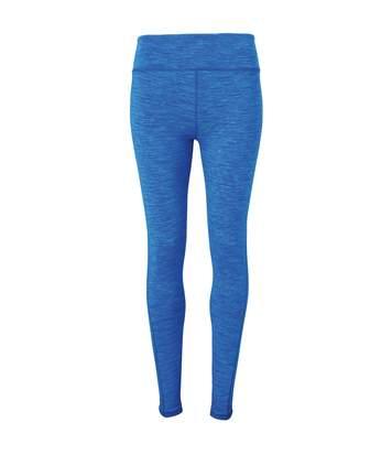 Tri Dri Womens/Ladies Performance Space Dye Leggings (Space Sapphire) - UTRW5569
