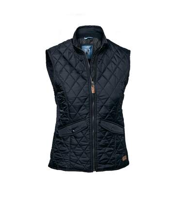 Nimbus Women/Ladies Camden Quilted Gilet/Bodywarmer (Midnight Blue) - UTRW3950