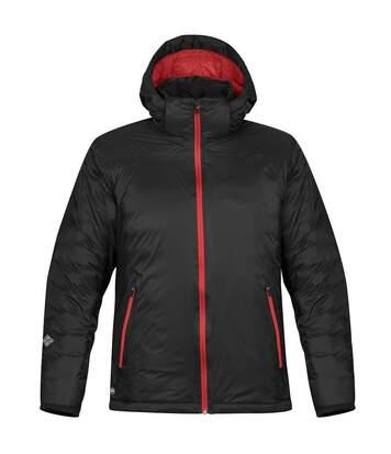 Stormtech Mens Black Ice Thermal Jacket (Black/Red) - UTRW5980
