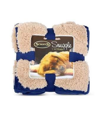 Scruffs Snuggle - Couverture Pour Chien (Bleu) - UTBZ2582