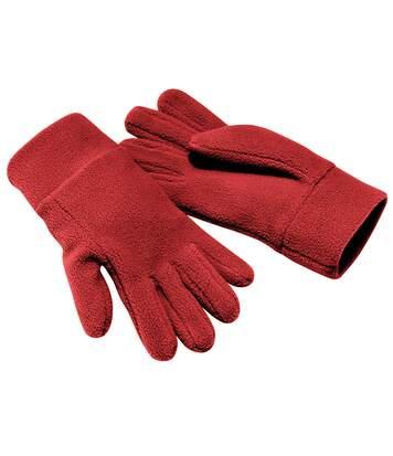 Beechfield - Gants Polaires - Adulte Unisexe (Rouge) - UTRW236