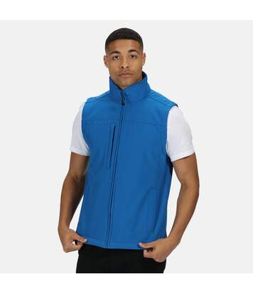 Regatta Mens Flux Softshell Bodywarmer / Sleeveless Jacket Water Repellent And Wind Resistant (Oxford Blue) - UTRG1493