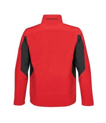 Stormtech Mens Pulse Softshell Jacket (Black/ Granite) - UTRW4646