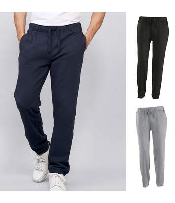 Lot 3 pantalons jogging sport - détente - homme - 83030 - noir - gris - bleu marine