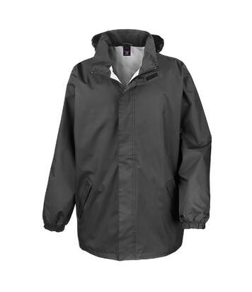Result Mens Core Midweight Waterproof Windproof Jacket (Black) - UTBC899