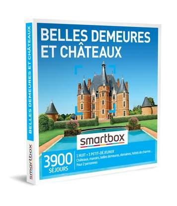 SMARTBOX - Belles demeureset châteaux - Coffret Cadeau Séjour